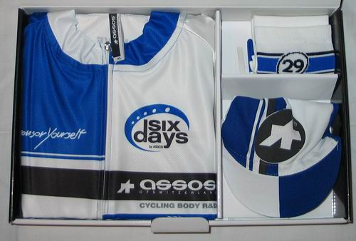 ASSOS LTD SIX DAYS SET Nr. 29 BU (XL II)