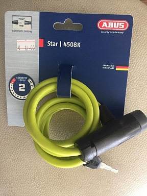 ABUS STAR YELLOW