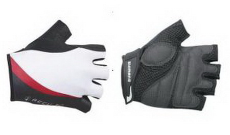 SHIMANO Gloves Γάντια  ACCU-3D  (XL) WH/RD