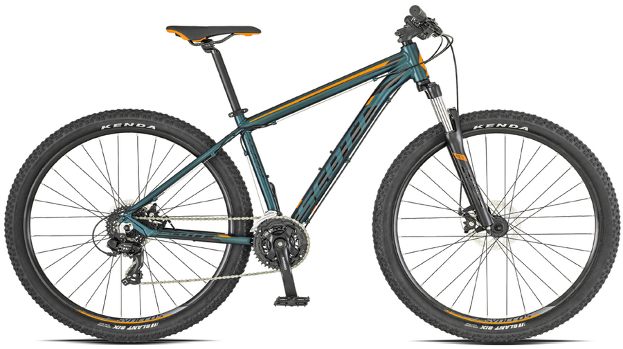 SCOTT ASPECT 970 (2019) (M-k) GRN/ORG