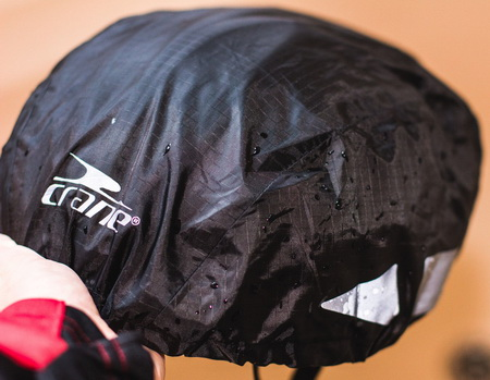 Raincover for helmet (One size) BK(V)