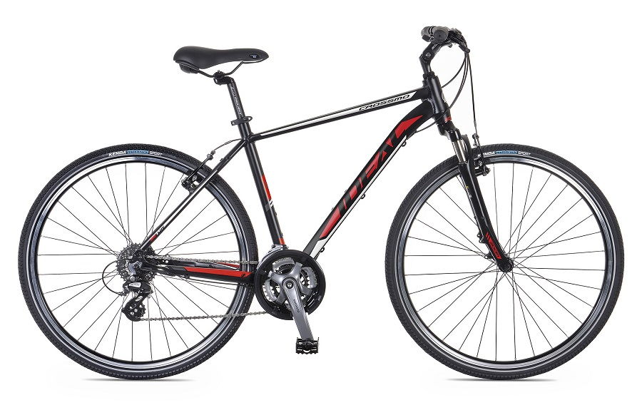 IDEAL CROSSMO (2016) 58cm BK/RD/WH