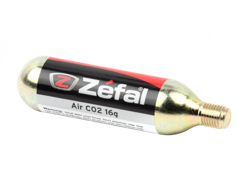 ZEFAL CO2 CARTRIDGE 16gr Threaded (ΙΧ)