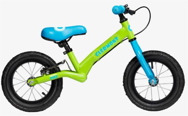 CLERMONT BALANCE Push Bike 12'' (GRN)