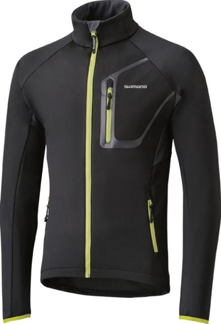 SHIMANO Μπουφάν TOUR SOFTSHELL (M,L) BK