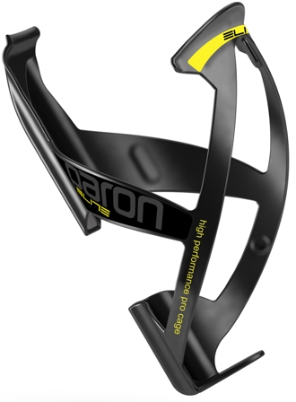 ELITE Bottle Cage PARON RACE (BK-YL FLUO MATT)(VI)