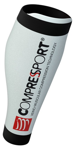 COMPRESSPORT Socks R2V2(Race&Recovery)(WH-BK)(T4)