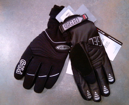 PRO Gloves  GEL TEAM WINTER (-5o έως 10ο) (M,L)
