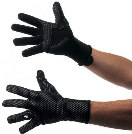 ASSOS GLOVES 851 EARLY WINTER (S,XL-II) BLACK
