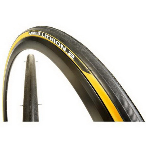 MICHELIN LITHION 2 700x23 BLACK-YELLOW (II)