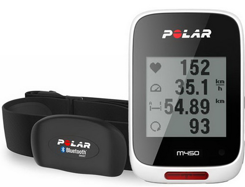 POLAR M450 Cycling GPS Computer with HRM