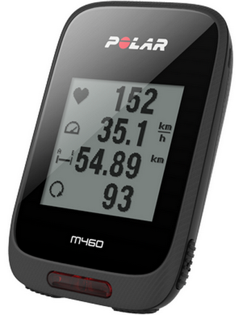 POLAR M460 Cycling GPS Computer with HRM