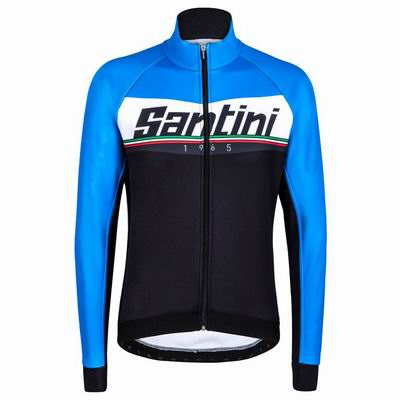 SANTINI MERIDIAN Jacket Windproof/Waterproof (XXL) (BU)