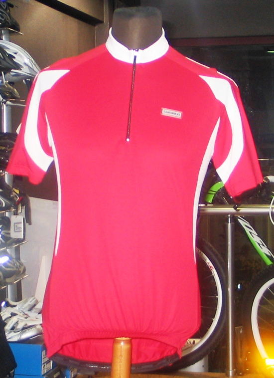 SHIMANO INSERT SHORT SLEEVE JERSEY (L) RD-WH
