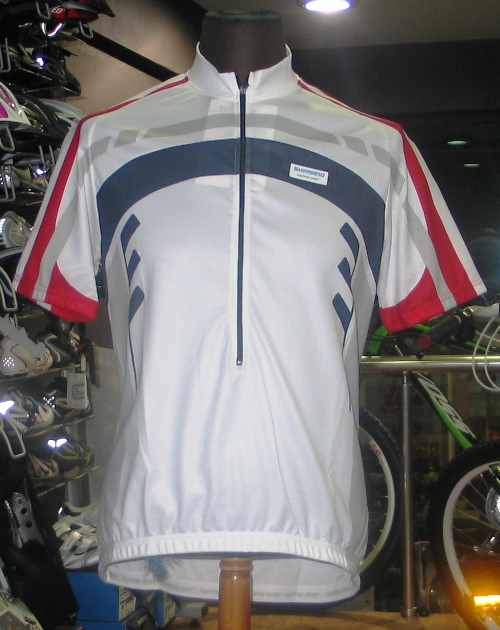 SHIMANNO PRINT SHORT SLEEVE JERSEY 1 (XL) WH