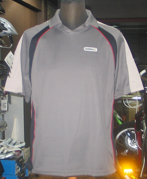 SHIMANO Μπλούζα Short sleeve jersey CARBON (L) GREY