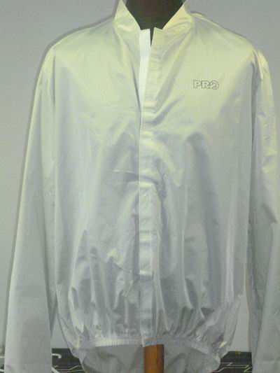 PRO RAINSHELL-Windbraker CLEAR JACKET VELCRO (XL-2)  GREY