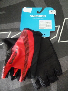 SHIMANO Gloves COMFORT  (XL) RED