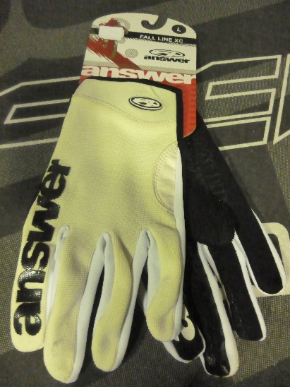 ANSWER Gloves Γάντια TUSK (L) YELLOW BK