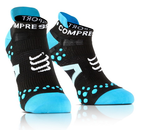 COMPRESSPORT Συμπίεσης V2.1 3D RUN Low (BK-BU)(39-41)(Τ2)