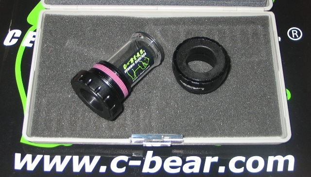 SHIMANO HOLLOWTECH II BSA Κεραμικά CBEAR (BK)*
