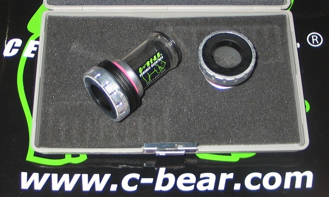 SHIMANO HOLLOWTECH II BSA Κεραμικά CBEAR (SLV)*