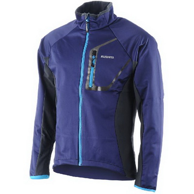 SHIMANO COMPACT WIND BREAKER PERFORMANCE TOUR (XL) NAVU BLUE