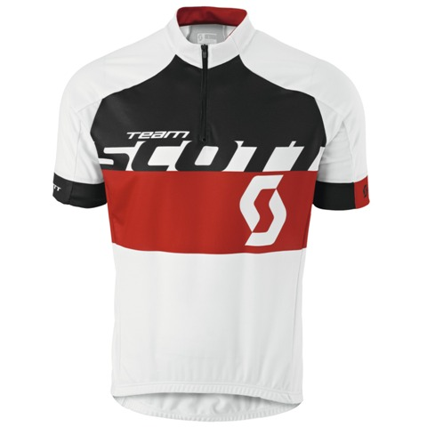 SCOTT Shirt RC TEAM s/sl (L) WH-RD