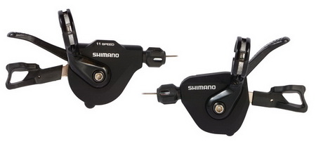 SHIMANO Χειριστήρια SL-RS700 2x11 Flat Bar (ROAD)