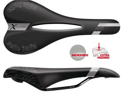 SELLE ITALIA Σέλα  X1 X-CROSS Flow (BK) (2)