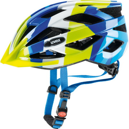 UVEX Teenagers Helmet AIR WING (OneSize 52-57) BU/YL
