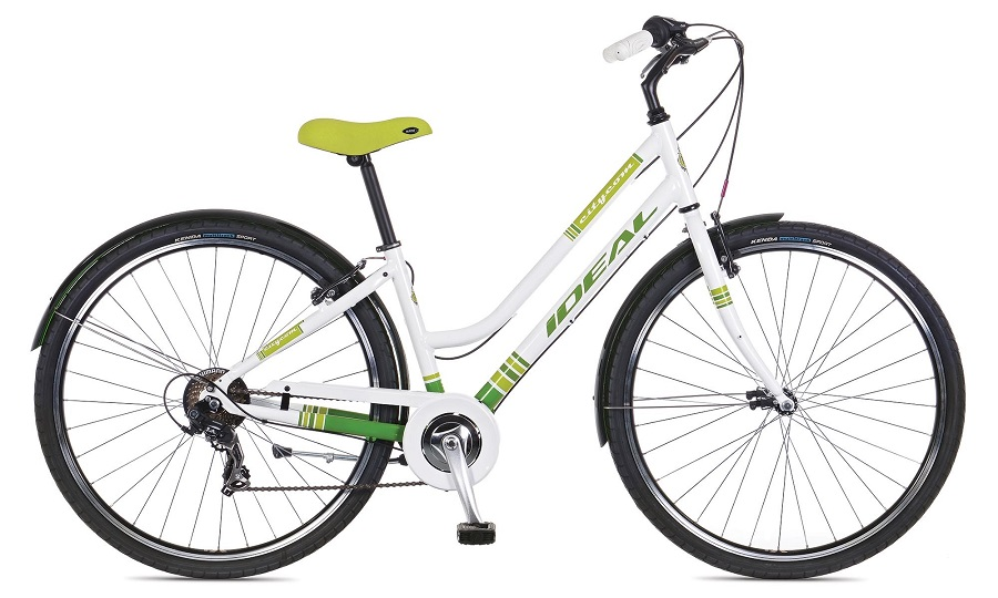 IDEAL CITYCOM 700C (40cm) 2014 7SP WH/GRN