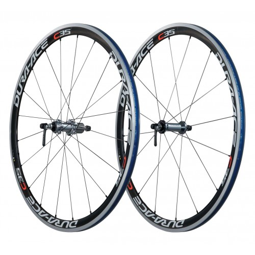 SHIMANO Τροχοί DURA ACE WH-7900 C35 CL Carbon