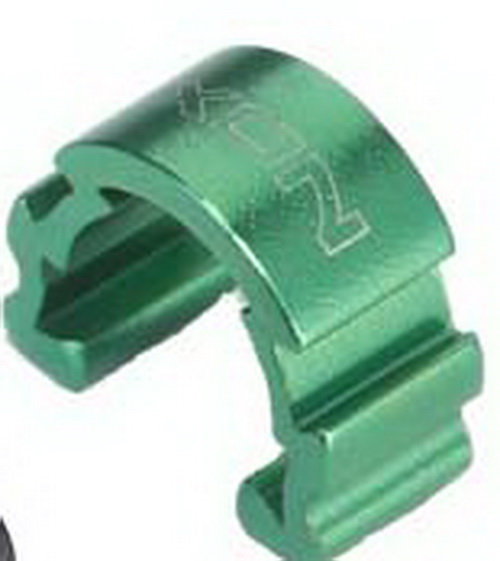 XON Alloy C-Clip Housing Guides (XCS-25) (GRN)