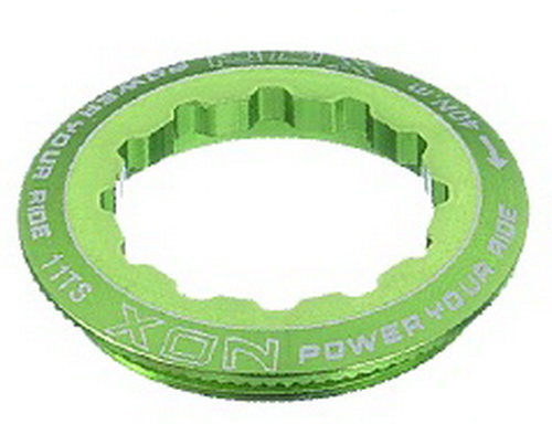 XON Full CNC Alloy Cassette Lock Ring (XSS-59S) (GRN)