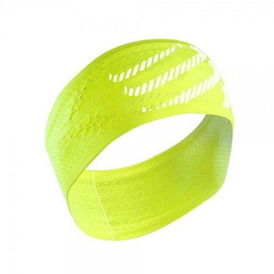 COMPRESSPORT Headband Fluo Yellow (II)
