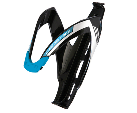 ELITE Bottle Cage CUSTOM RACE (BK/BU) (III)