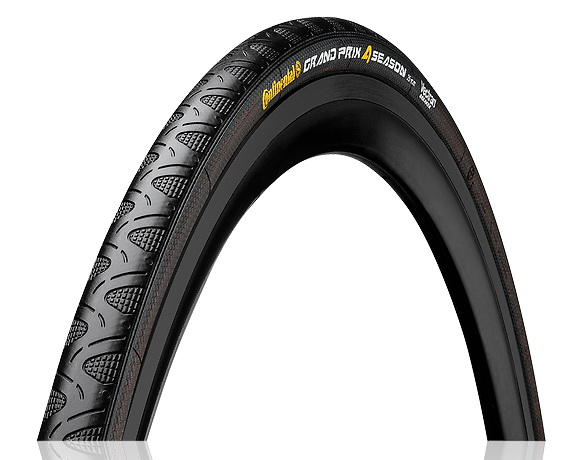 CONTINENTAL GRAND PRIX 4-SEASON 700x25 Folding (BK) (IV)