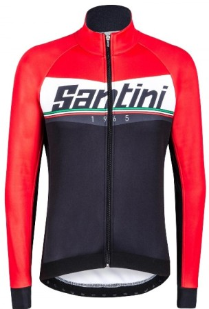 SANTINI MERIDIAN Jacket Windproof/Waterproof (4XL) (RD)