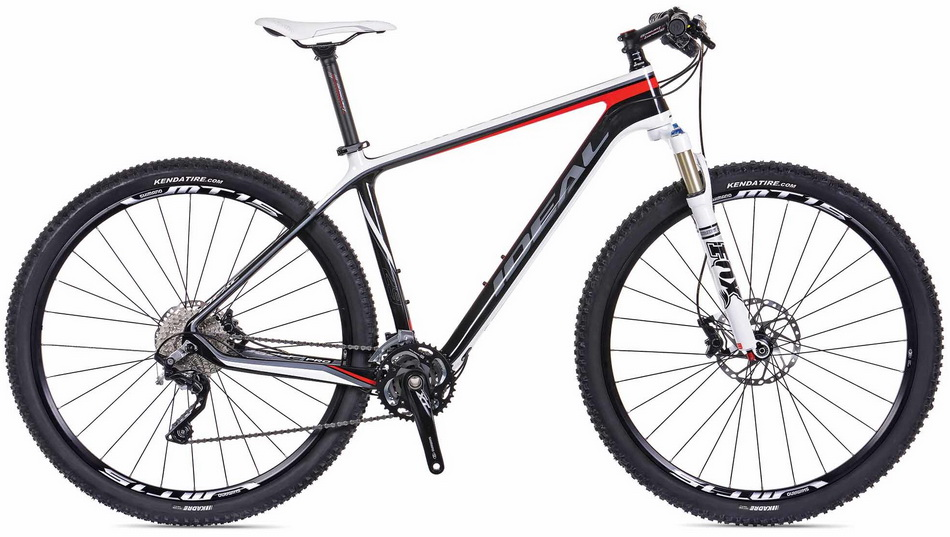 "IDEAL RACE PRO 29"" (UD CRBN/WH/RD) (48,53)"