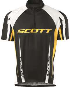 SCOTT Μπλούζα AUTHENTIC s/sl (L) BK-YL
